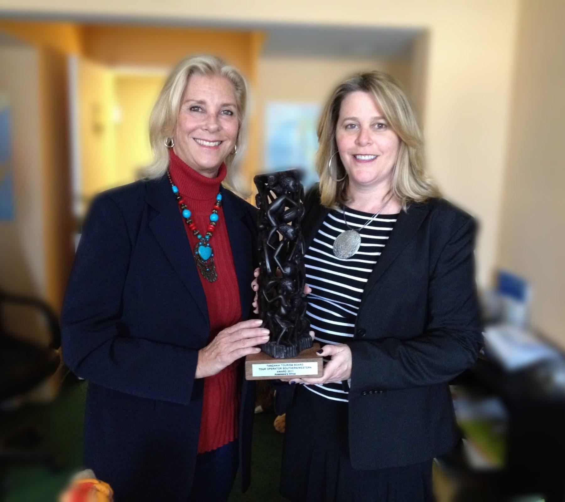 Anastasia and Karin 2012 Award