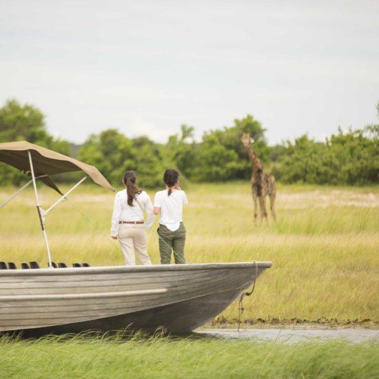 Boat safari in Chobe