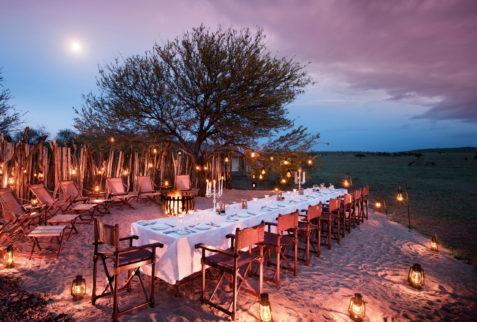 Boma dinner on Safari