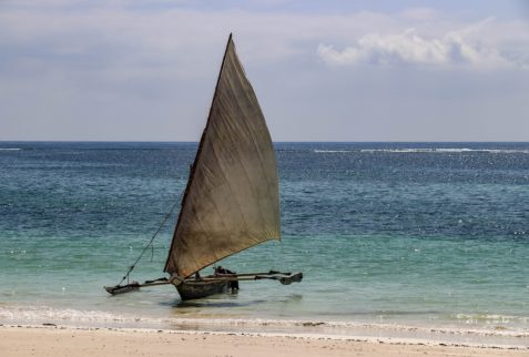 Dhow at Diani