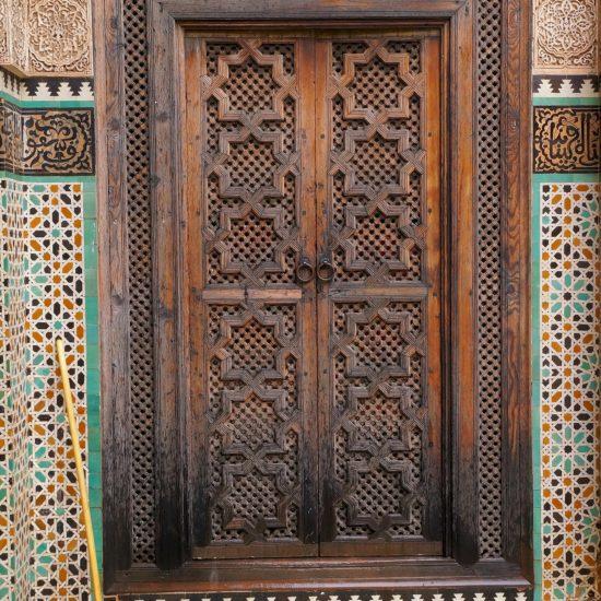 Doorway in Fes