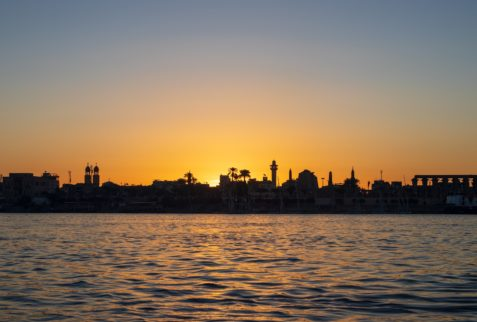 Luxor from Nile