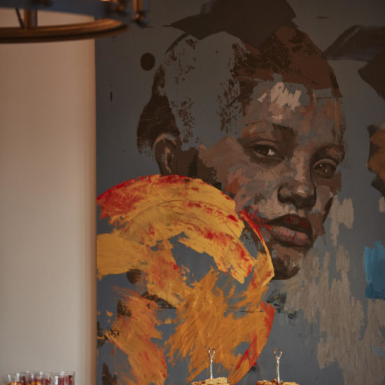 Painting in Winelands