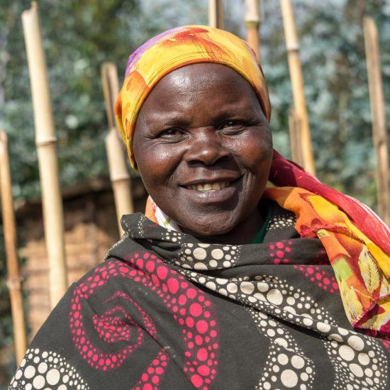Local woman in Rwanda