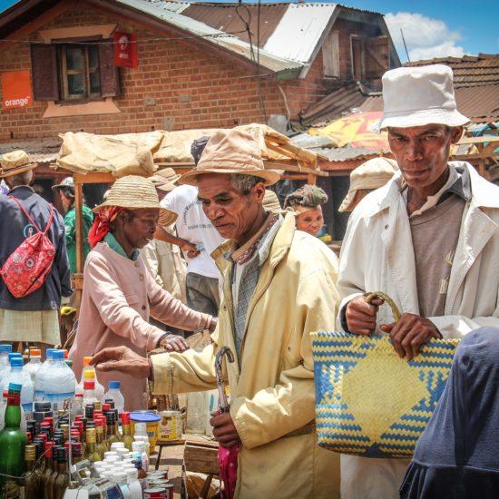 Locals at Market
