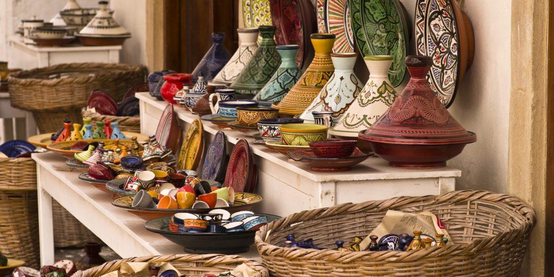 Moroccan souk