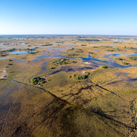 Overview Okavango Delta
