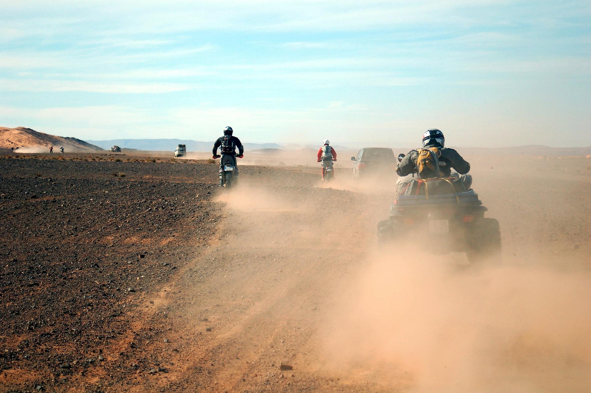 ATVs in Morocco