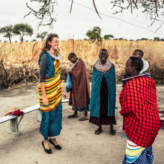 Masai visit